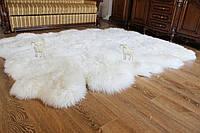 Ковер из 12-ти овечьих белых шкур, 2.0*3.2
