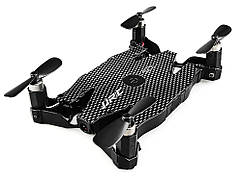 Селфи-дрон  Jjrc H49WH c камерой 720P WIFI  Черный