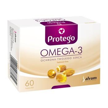 Омега 3 Omega 3 Protego 60 капсул
