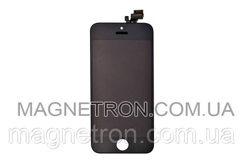Дисплей + тачскрин + рамка для телефонов Apple iPhone 5 (черный)