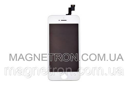 Дисплей + тачскрин + рамка для мобильных телефонов iPhone 5S