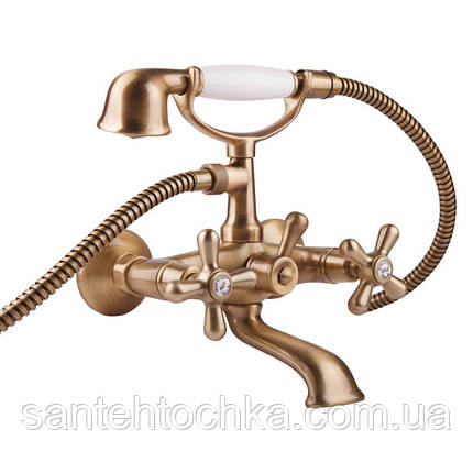 Змішувач для ванни Bianchi Old Fashion VSCOLF1023#OLF00VOT (VSCOLF 1023OLF00 VOT), фото 2