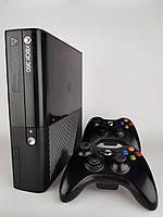 Прошитый Xbox 360 Slim E 250 gb.FREEBOOT два геймпада+30 Топ игр (GTA 5,FIFA 19,MK,UFC3 и мн.др.)