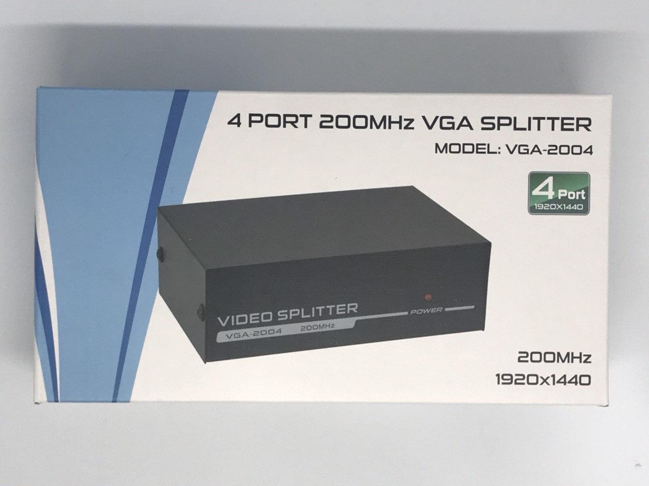 Коммутатор VGA 1*4, VGA сплиттер