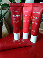 Тинт для губ Deoproce Tinted Lip Balm 10g Red