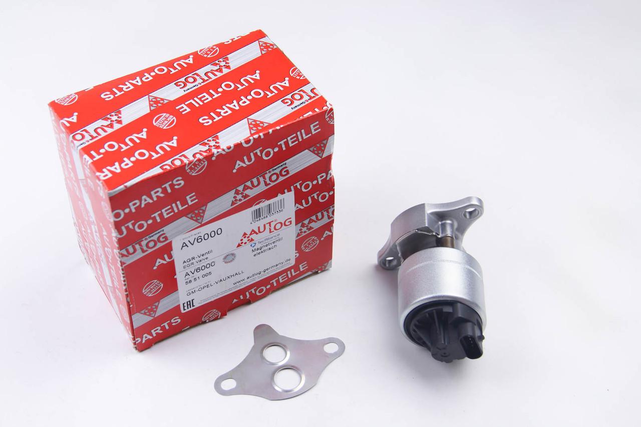 Клапан EGR Opel Astra G 1.2/1.4/1.6 1991-2005