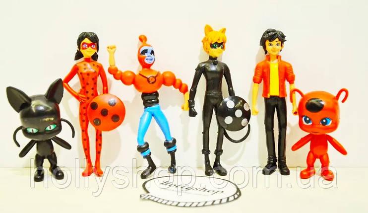 Набор фигурок Леди Баг Ледибаг и Супер Кот Miraculous Ladybug and Cat, фото 2
