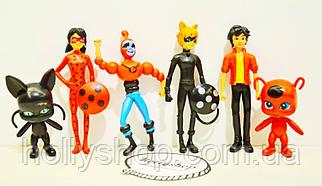 Набор фигурок Леди Баг Ледибаг и Супер Кот Miraculous Ladybug and Cat