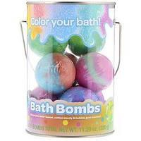 Бомбы для ванной для детей Crayola (виноград, лимон, конфеты,  жвачка) 8шт (320 g)