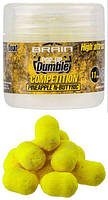 Бойлы Brain Dumble Pop-Up Competition 9мм 20г Pineapple N-butiric