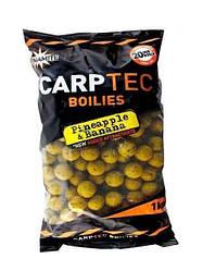 Бойлы Dynamite Baits Carp-Tec 1кг 15мм Pineapple-Banana