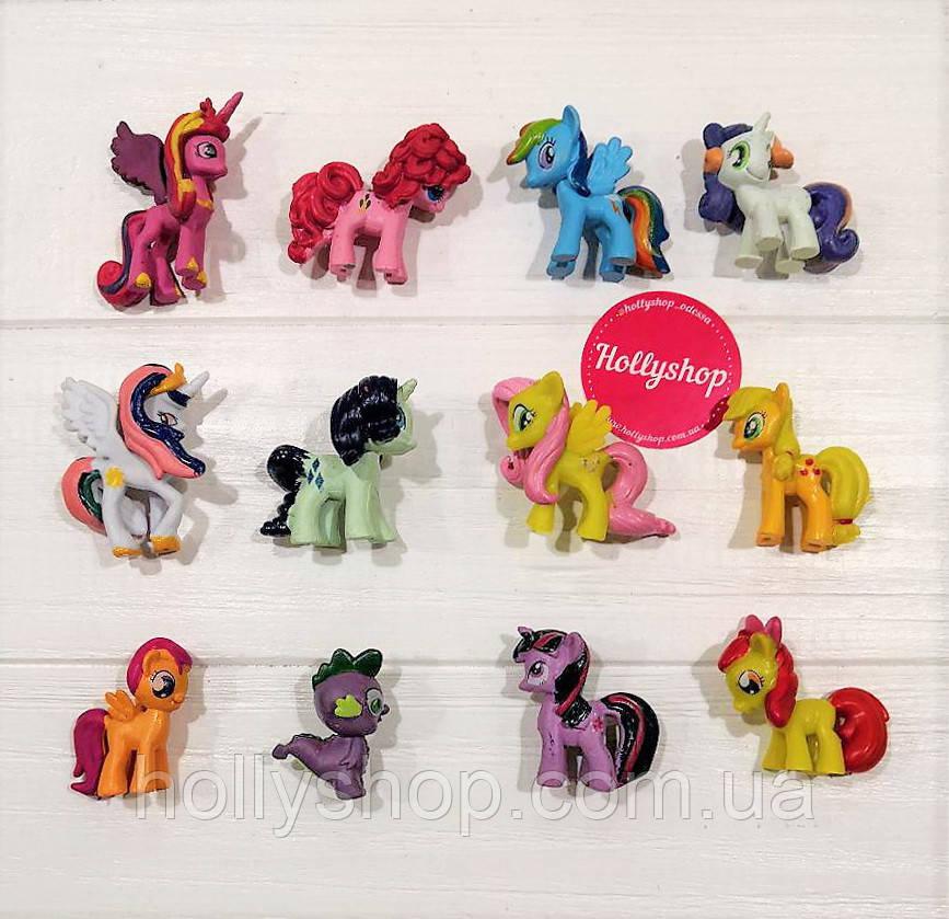 Большой Набор фигурок Май Литл Пони My little pony фигурки Пони 12 шт