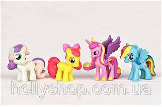 Большой Набор фигурок Май Литл Пони My little pony фигурки Пони 12 шт, фото 2