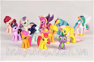 Набор фигурок Май Литл Пони My little pony фигурки Пони 12 шт, фото 2