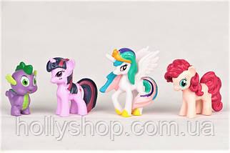 Набір фігурок Травень Літл Поні My little pony фігурки Поні 12 шт, фото 3