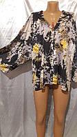 Стильная летняя накидка в стиле кимоно