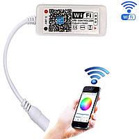 Мини WiFi Контроллер для светодиодной ленты RGBW 12А, Smart WF-4-RGBWW-02
