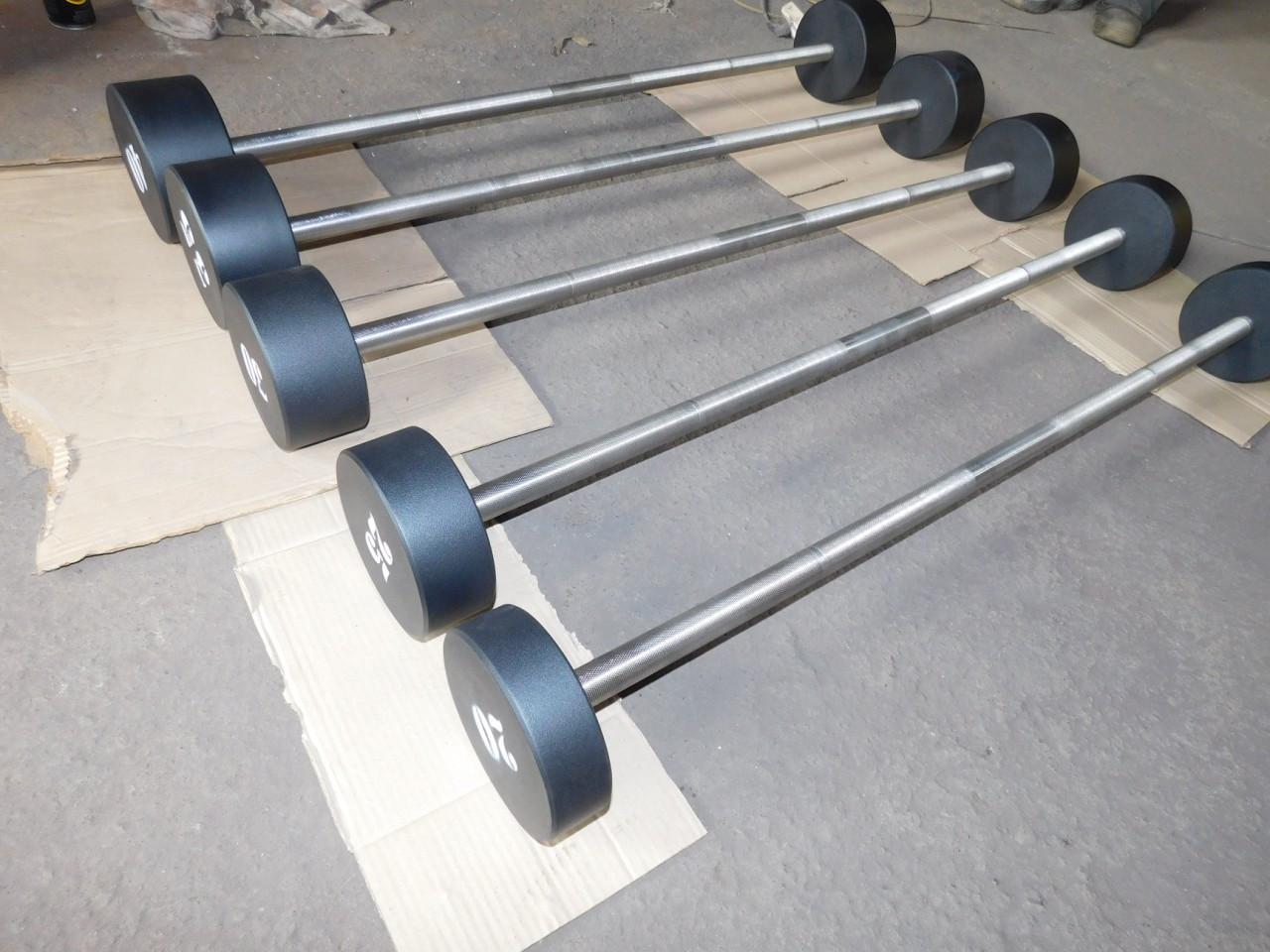 Штанги неразборные 5-50 кг МК-0550