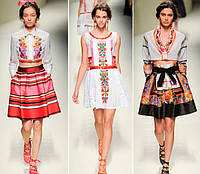 Вышиванка в современной моде