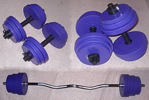 """Набор """"Титан"""" 31 кг (W-гриф)"""