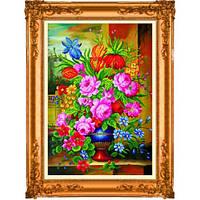"""""""Душистые цветы. Honey Home"""" Набор для рисования камнями"""
