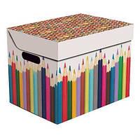 Ящик для хранения картонный ONE, карандаши  34*25*26см