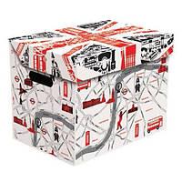 Ящик для хранения картонный ONE, London