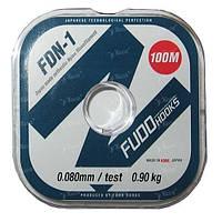 Леска Fudo FDN-1 100м 0.08мм 0.9кг
