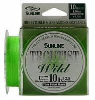 Леска Sunline Troutist Wild #1.0 0.165 4lb 150m