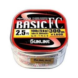 Флюорокарбон Sunline Basic 20lb 0.37 225м