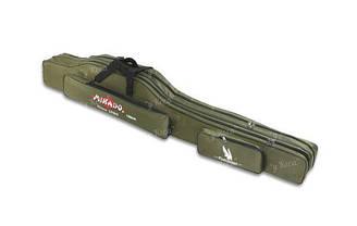 Чехол для удилищ Mikado 1.2m под катушку зеленый UWD-12002G-120