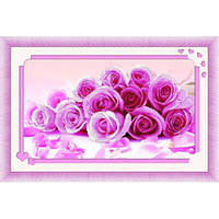"""""""Розовый букет. Honey Home"""" Набор для рисования камнями"""