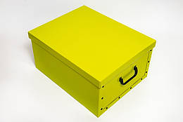 Коробка картонная Evoluzione 40х50х25 см Салатовая, КОД: 293225