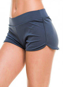Спортивные шорты женские Issa Plus 9492 серый