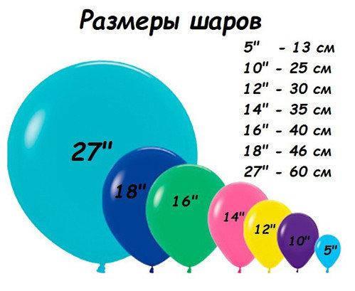 """Латексные шары круглые без рисунка 10"""" 25см Металлик красный """"GEMAR"""" Италия, фото 2"""