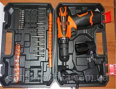 Набор инструментов EDON ED-40L-TZ с шуруповертом и запасным аккумулятором