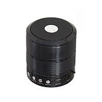 Портативная Bluetooth колонка WS-887 Black (1em_002594)