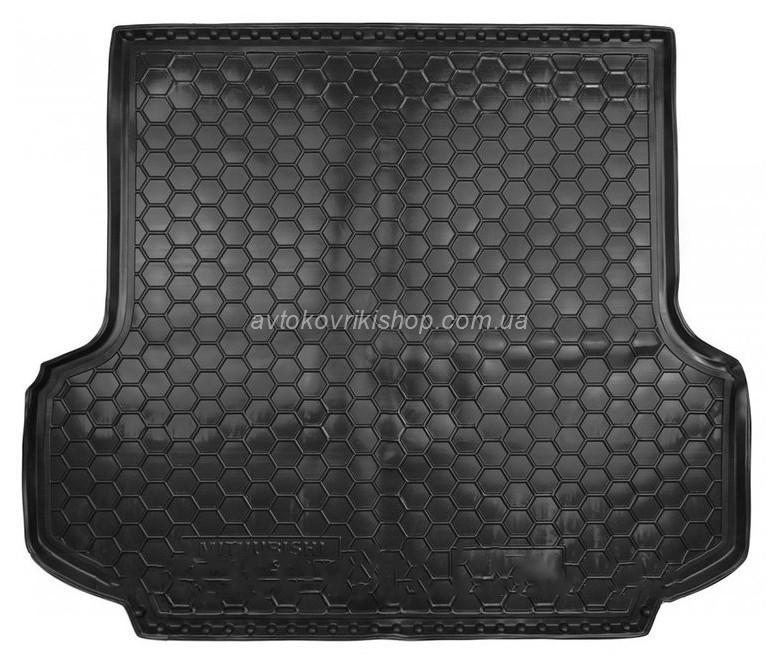Резиновый коврик багажника Mitsubishi Pajero Sport 2008- Avto-Gumm