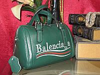 Женская еожаная сумочка Balenciaga  (Зелёная) Бренд