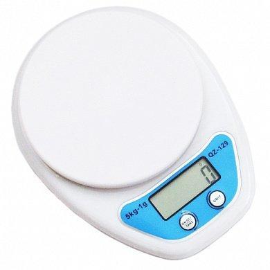 Кухонные весы Qz-129 до 5 кг с чашей и подсветкой