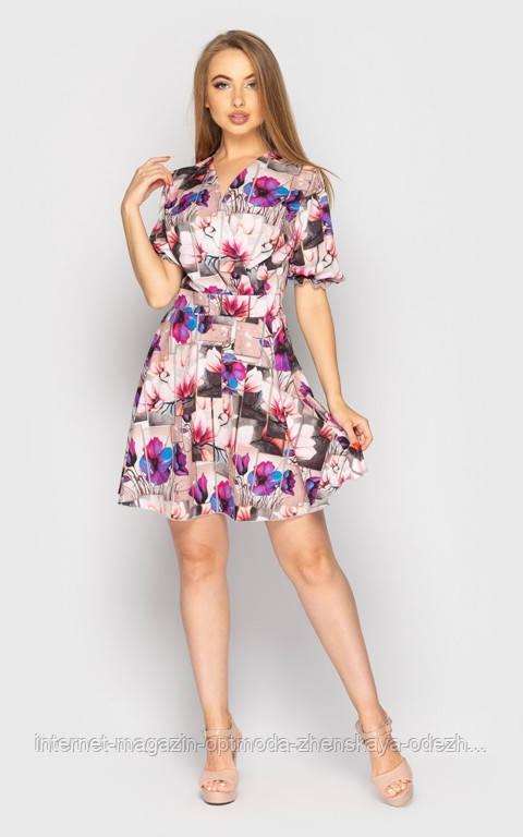 Міні-сукні з квітковим принтом