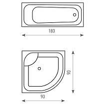 Штора для ванной комнаты Tatkraft 180 х 180 см Веселые Коты 14664, КОД: 166749, фото 3