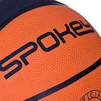 Баскетбольный мяч Spokey DUNK размер 7 Orange-Black s0219, КОД: 199264, фото 3