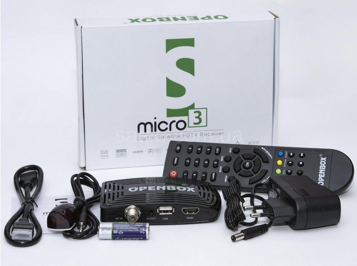 Спутниковый тюнер Openbox S3 micro HD