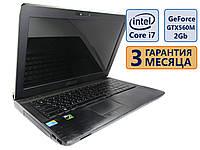 Ноутбук Asus G53SX 15.6 3D (1366x768) / Core i7-2670QM (4x max3.1GHz) /GeForce GTX 560M. 2Gb/RAM 8Gb / HDD 1Tb / АКБ 0 мин./ Сост. 8 из 10 БУ