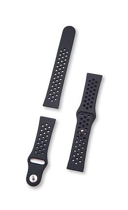 Ремешок BeWatch для смарт-часов Xiaomi amazfit BIP Черный 1010101, КОД: 295486, фото 2