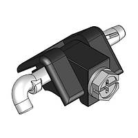 Кутова петля 311-V2 для електрощитів, чорна