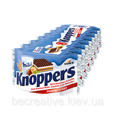 Вафли Knoppers, 8 шт