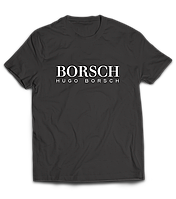 Прикольная футболка с принтом | BORSCH (БОРЩ)