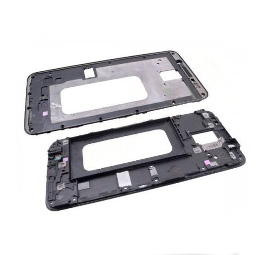 Рамка средняя часть корпуса Samsung A6 Plus 2018 Black (IVI50119E AL1)